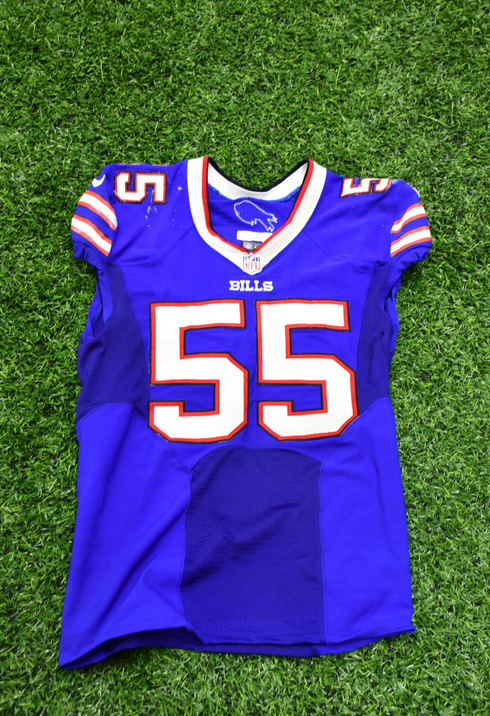 Inside The Bills   Game-worn jerseys now available on Billieve Auction
